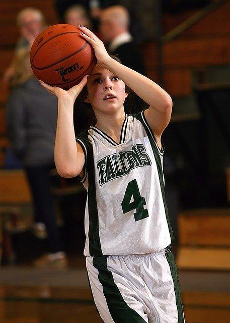 Basketball Shooting Guard Shooting The Ball